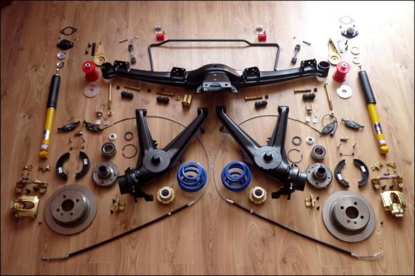 Px E Rearsuspension on 4 Link Suspension Setup