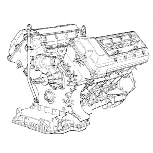 Engine Swap - M6x - E30 Zone Wiki | Bmw M60 Engine Diagram |  | E30 Zone